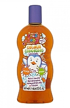 """Parfumuri și produse cosmetice Spumă de baie """"Portocaliu-verde"""" - Kids Stuff Crazy Soap Colour Changing Bubble Bath"""