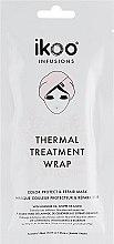 """Parfumuri și produse cosmetice Mască termică de păr """"Protecția și restaurarea culorii"""" - Ikoo Infusions Thermal Treatment Wrap"""