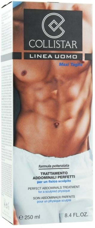 Tratament cu efect de strângere pentru abdomen și șolduri - Collistar Perfect Abdominals Treatment — Imagine N1