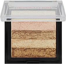 Shimmer pentru față - Makeup Revolution Shimmer Brick — Imagine N2