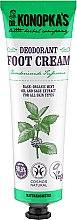 Parfumuri și produse cosmetice Cremă deodorant pentru picioare - Dr. Konopka's Deodorant Foot Cream