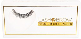 Parfumuri și produse cosmetice Gene false - Lash Brown Premium Silk Lashes Lashes No Lashes