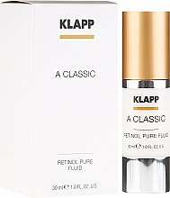 Parfumuri și produse cosmetice Spumă de baie - Klapp A Classic Retinol Pure Serum