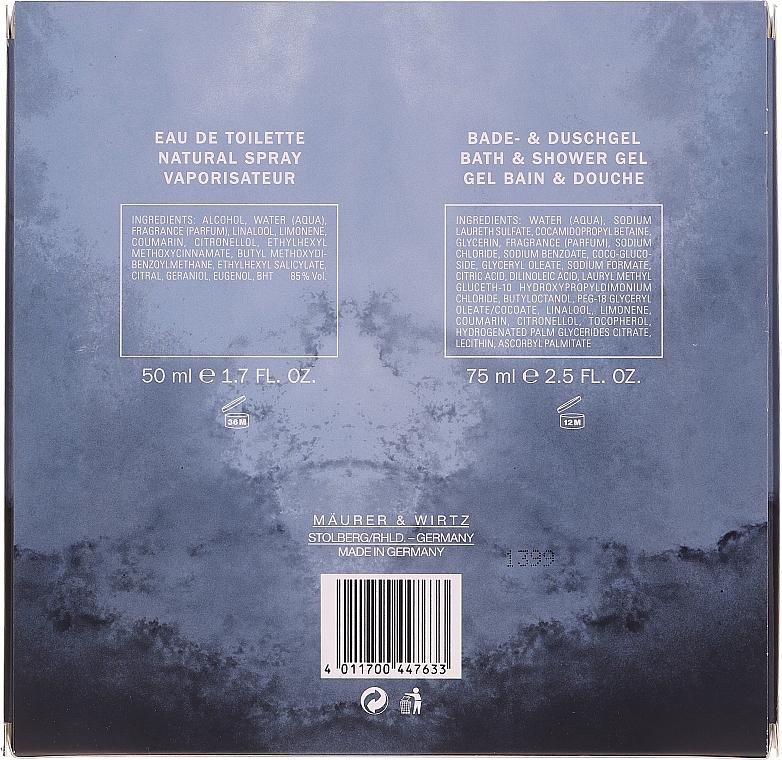 Maurer & Wirtz Tabac Original - Set (edt/50ml + sh/gel/75ml) — Imagine N2