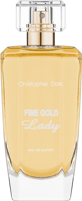 Christopher Dark Fine Gold Lady - Apă de parfum