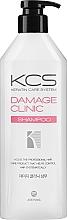 Parfumuri și produse cosmetice Șampon regenerant pentru păr deteriorat - KCS Demage Clinic Shampoo