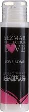Parfumuri și produse cosmetice Gel de duș - Sezmar Collection Love Love Bomb Aphrodisiac Shower Gel (mini)