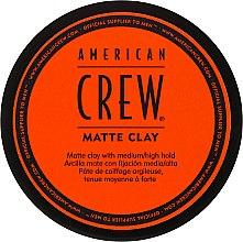 Parfumuri și produse cosmetice Argilă pentru păr - American Crew Matte Clay