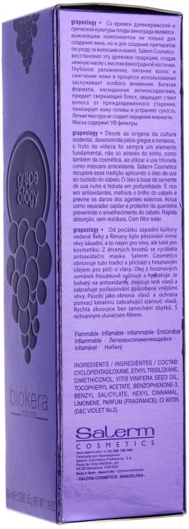 Ulei de struguri pentru păr - Salerm Biokera Grapeology  — Imagine N3