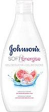 Parfumuri și produse cosmetice Gel de duș cu aromă de pepene verde și trandafir - Johnson's® Soft & Energise Shower Gel