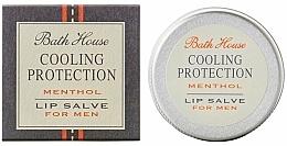 Parfumuri și produse cosmetice Balsam de buze pentru bărbați - Bath House Cooling Protection Menthol Lip Salve