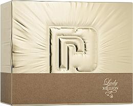 Parfumuri și produse cosmetice Paco Rabanne Lady Million - Set (edp/50ml + edp/10ml + b/lot/75ml)