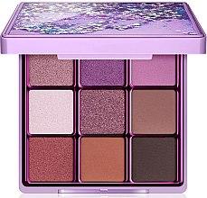Parfumuri și produse cosmetice Paletă de machiaj, 9 culori - I Heart Revolution Glitter Eyeshadow