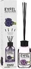 "Parfumuri și produse cosmetice Difuzor Aromatic ""Iachint"" - Eyfel Perfume Reed Diffuser Hiacynt"
