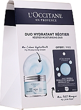 Parfumuri și produse cosmetice Set - L'Occitane Aqua Reotier (cr/50ml + mask/6ml)