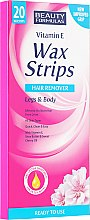 Parfumuri și produse cosmetice Benzi de ceară - Beauty Formulas Wax Strips Hair Remover Legs & Body