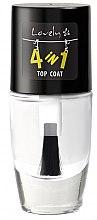 Parfumuri și produse cosmetice Lac de finisaj pentru unghii - Lovely 4-in-1 Nail Top Coat