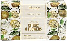 Parfumuri și produse cosmetice Săpun - IDC Institute Refreshing Hand Natural Soap Citrus & Flowers