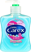 Săpun lichid antibacterian - Carex Bubble Gum Hand Wash — Imagine N1
