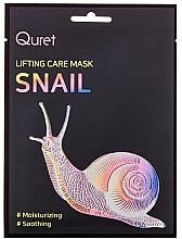Parfumuri și produse cosmetice Mască cu efect de lifting pentru față - Quret Lifting Care Mask Snail