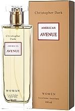Parfumuri și produse cosmetice Christopher Dark American Avenue - Apă de parfum