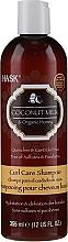 Parfumuri și produse cosmetice Șampon nutritiv cu ulei de cocos - Hask Coconut Milk & Organic Honey Curl Care Shampoo
