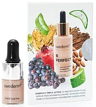 Parfumuri și produse cosmetice Fond de ten - Swederm B Perfect Triple Action Foundation (mini)