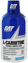 Parfumuri și produse cosmetice L-Carnitină lichidă 1500, zmeură albastră - GAT Sport L-Carnitine Amino Acid Blue Raspberry