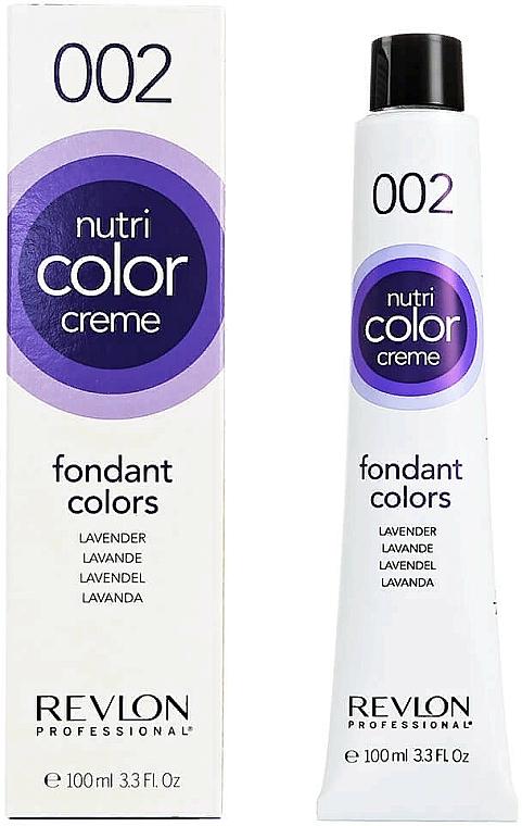 Tonic-balsam pentru păr - Revlon Professional Nutri Color Creme Fondant Colors