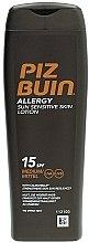 Parfumuri și produse cosmetice Loțiune cu protecție solară pentru corp - Piz Buin Allergy Sun Sensitive Skin Lotion SPF15