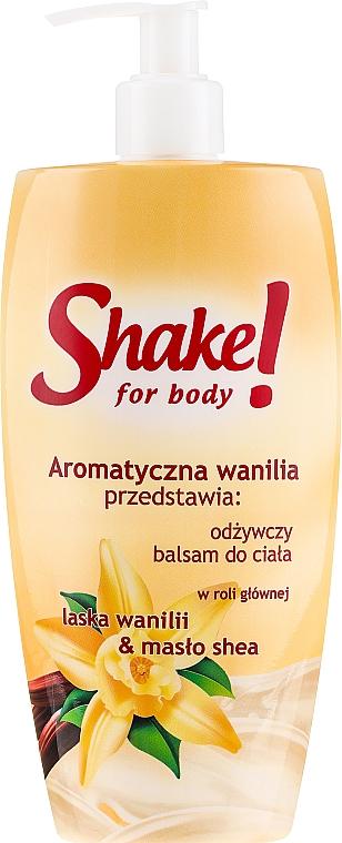 "Loțiune de corp ""Vanilie"" - Shake for Body Regenerating Body Lotion Vanilla"