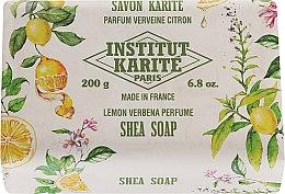 Săpun - Institut Karite Lemon Verbena Shea Soap — Imagine N3