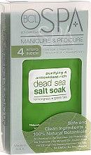 Parfumuri și produse cosmetice Set - BCL SPA Manicure & Pedicure Lemongrass + Green Tea (scr/28gr + salt/14gr + mask/15ml + cream/15ml)