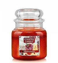 Parfumuri și produse cosmetice Lumânare aromatică - Country Candle Winter Sangria