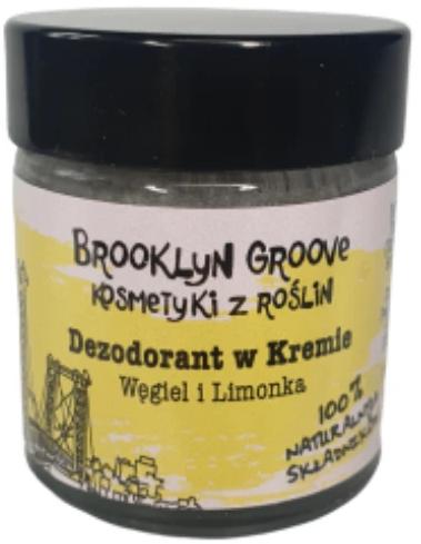 Deodorant-cremă cu aromă de lime și portocală - Brooklyn Groove Deodorant Cream — Imagine N1