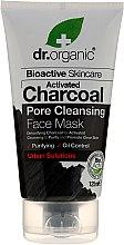 Parfumuri și produse cosmetice Mască de față - Dr. Organic Bioactive Skincare Activated Charcoal Pore Cleansing Face Mask