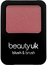 Parfumuri și produse cosmetice Fard de obraz, cu pensulă - Beauty UK Blush & Brush