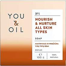 Parfumuri și produse cosmetice Săpun hrănitor pentru toate tipurile de piele - You & Oil Nourish & Nurture All Skin Types