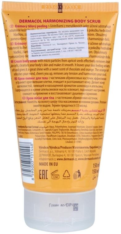 Scrub pentru corp - Dermacol Body Aroma Ritual Harmonizing Body Scrub — Imagine N2