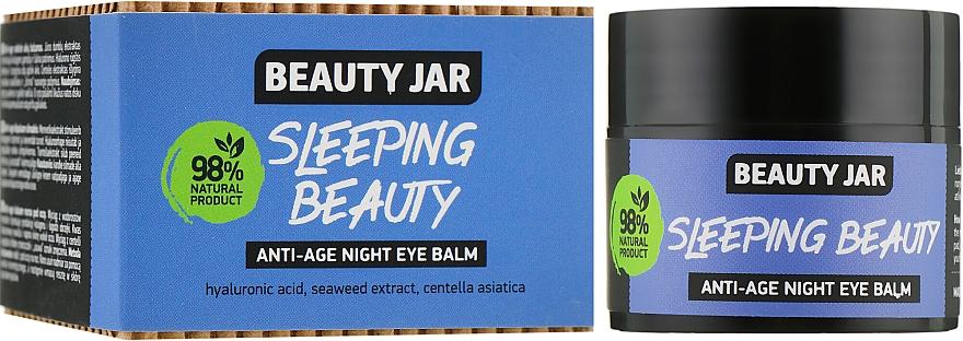 """Balsam anti-îmbătrânire pentru ochi """"Sleeping Beauty"""" - Beauty Jar Anti-Age Night Eye Balm"""
