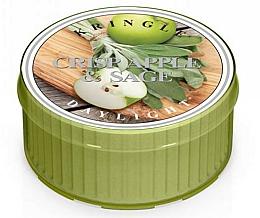 Parfumuri și produse cosmetice Lumânare de ceai - Kringle Candle Daylight Crisp Apple & Sage