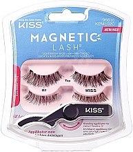 Parfumuri și produse cosmetice Gene false magnetice - Kiss Magnetic Lash Type 2