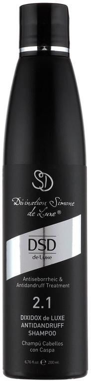 Șampon antimătreață Dixidox De Luxe N 2.1 - Divination Simone De Luxe Dixidox DeLuxe Antidandruff Shampoo — Imagine N2
