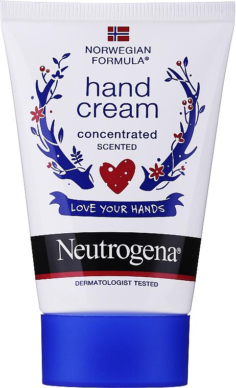 """Cremă-concentrat de mâini """"Formulă norvegiană"""" - Neutrogena Norwegian Formula Concentrated Hand Cream"""