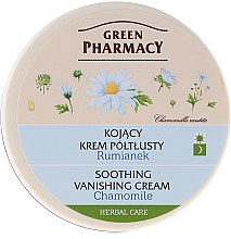 "Parfumuri și produse cosmetice Cremă de față ""Romaniță"" - Green Pharmacy Soothing Vanishing Cream"