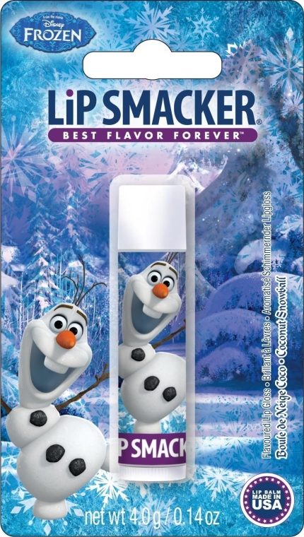 Balsam de buze - Lip Smacker Disney Frozen Balm Olaf Coconut Snowballs — Imagine N1