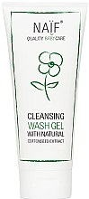 Parfumuri și produse cosmetice Gel de duș - Naif Cleansing Wash Gel (Mini)