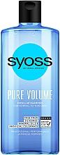 Parfumuri și produse cosmetice Șampon micelar pentru păr normal și fin - Syoss Pure Volume Micellar Shampoo