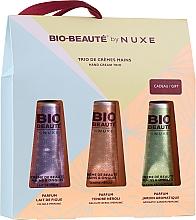 Parfumuri și produse cosmetice Set - Nuxe Bio Beauty Handcreme (h/cr/30mlx3)
