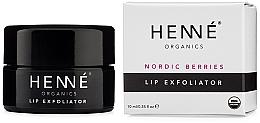 Parfumuri și produse cosmetice Exfoliant pentru buze - Henne Organics Nordic Berries Lip Exfoliator